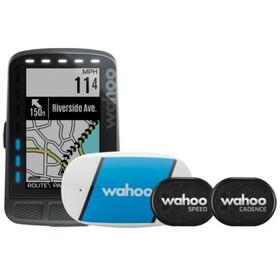 Wahoo ELEMNT ROAM GPS zestaw z TICKR 2 + czujnikiem prędkości i kadencji, grey